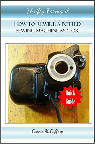 How to Rewire Potted Sewing Machine Motors
