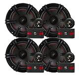 2) MB Quart XC1-216 90 Watt Car Audio Component 6.5 Inch Speaker Systems X-Line
