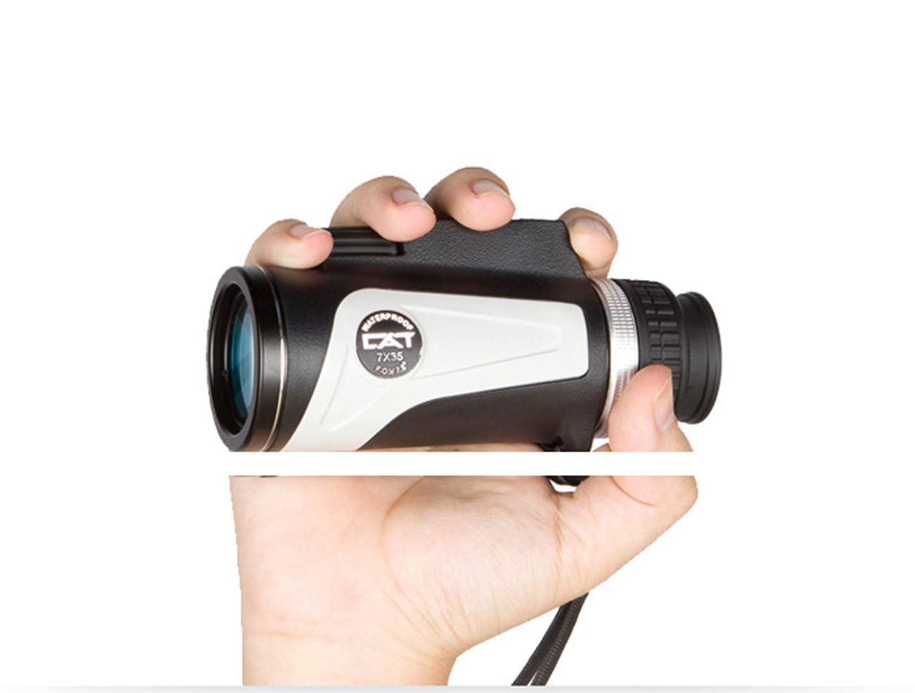 XUEXUE Monocular Telescope Night Vision Rangefinder 7X35 and Compass HD Waterproof Small Compact Mobile Phone Photographing Telescope for Kids Adult Outdoor Traveling Astronomy Birdwatching by XUEXUE