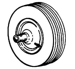 """Arnold Contractor Wheel- Barrow Replacement Wheel 480 / 400 X 8\"""" 8\"""" Hub Diameter"""