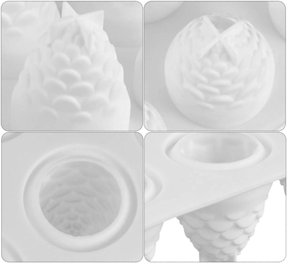 Muffin Pasteler/ía Molde Antiadherente de la Torta de Silicona Pastel Jabon Forma de Colmena Moldes de Silicone para Reposter/ía Bizcocho Pud/ín