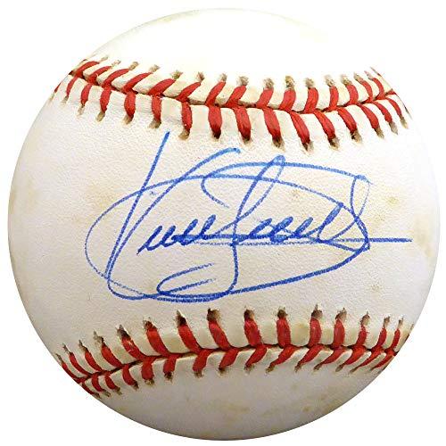 Kirby Puckett Autographed Signed Memorabilia Official Al Baseball Minnesota Twins - Beckett Authentic