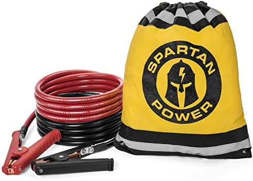 Jumper Cables Booster Spartan Power