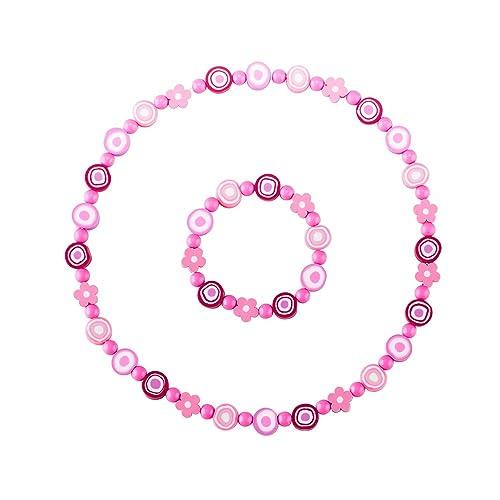 9b3891ddb6ed minihope niños joyas - Collar Pulsera De Perlas De - Juego de flores ...