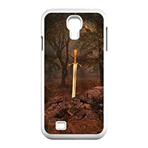 Samsung Galaxy S4 I9500 Phone Case Sword in the Stone Personalized Cover Cell Phone Cases GHR744493