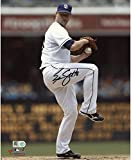 "Eric Stults San Diego Padres Autographed 8"" x 10"" White Pitching Photograph - Fanatics Authentic Certified"