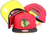 Chicago Blackhawks Mitchell & Ness NHL 2013 5X Stanley Cup Champions Snapback Cap - Red