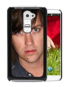 Beautiful Designed Cover Case With Rhett Miller Face Look Shirt Wall For LG G2 Phone Case