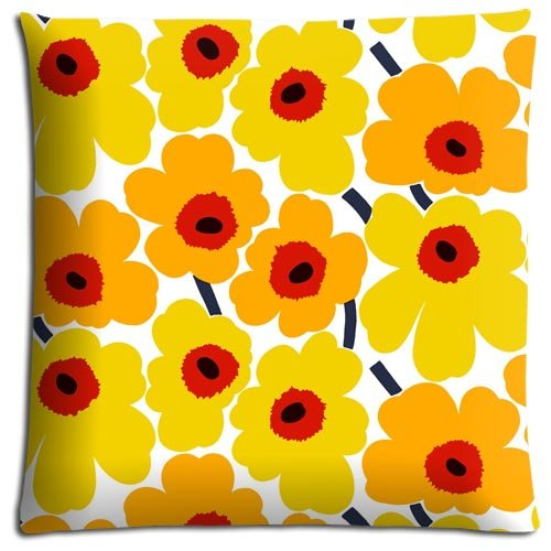 16x16-inch-40x40-cm-cushion-pillow-cover-cases-cotton-polyester-lightweight-attractive-marimekko