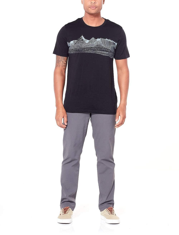 Icebreaker Herren Tech Lite Ss Crewe Pyrenees T-Shirt