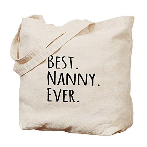 CafePress Unique Design Best Nanny Ever Tote Bag - Standard Multi-color by CafePress