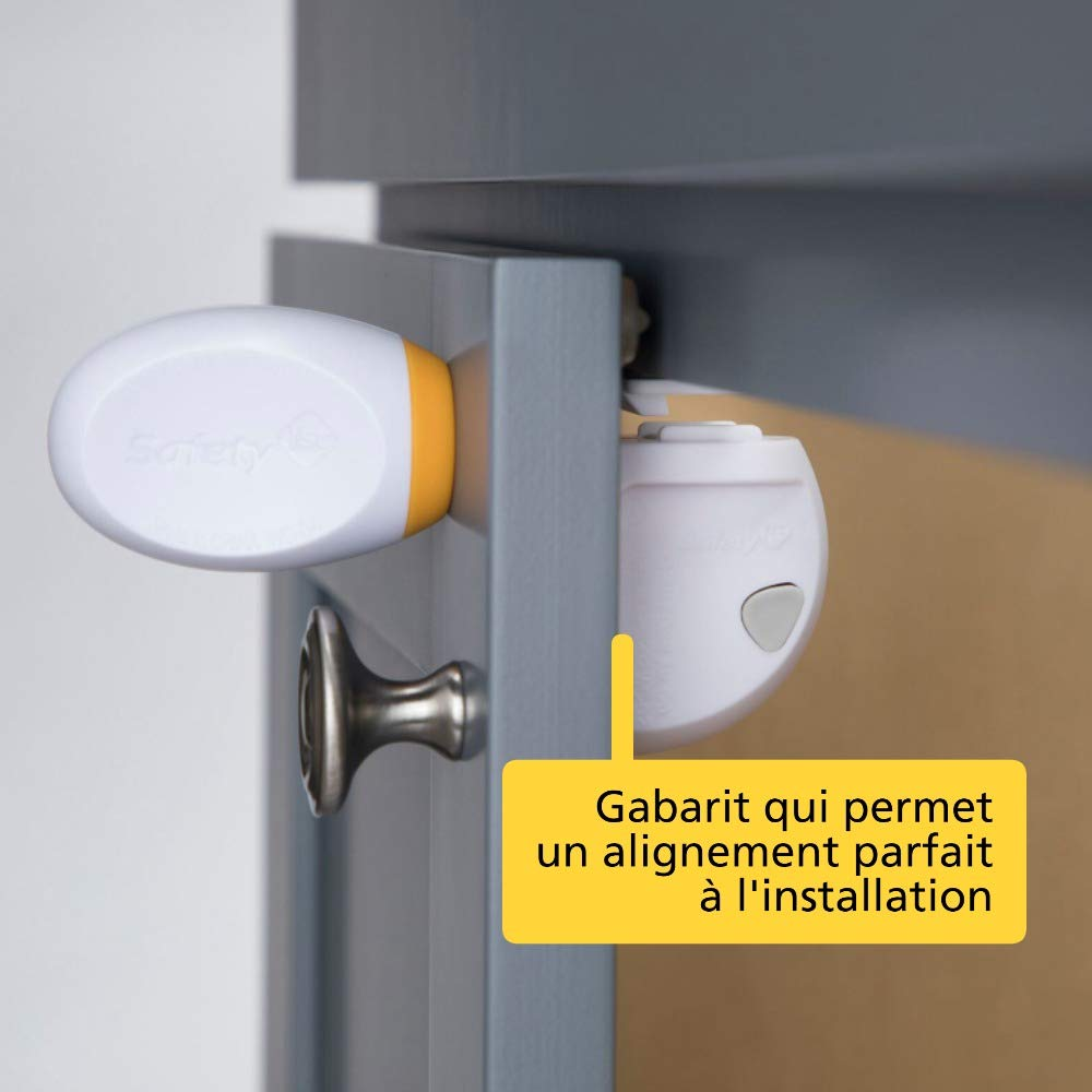 Safety 1st Bloque Placard Magnetique Adhesif