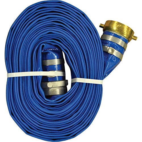 JGB Enterprises A008-0486-1625 Eagle-Flo Blue PVC Discharge Hose, 3