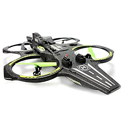 FunnyPro 2.4Ghz Remote Control Drone Quadcopter Giant Aircraft Carrier with LED Night Light 6 Axis Gyroscope
