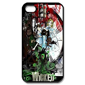 Broadway Musical Wicked Hard Plastic Back Protective Case for Apple Iphone4&4s FC-3