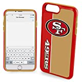 Forever Collectibles POP1016-00001 Dual Hybrid Bold Series Case for iPhone 7 Plus - NFL San Francisco 49ers