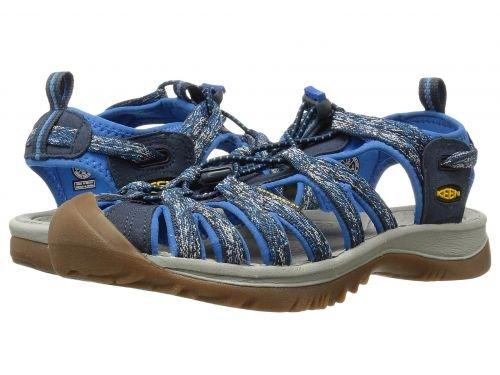 素晴らしき打ち負かす錫Keen(キーン) レディース 女性用 シューズ 靴 サンダル Whisper - Midnight Navy/French Blue [並行輸入品]