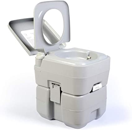 YAP 20L portátil de Viaje WC Inodoros Acampar al Aire Libre ...