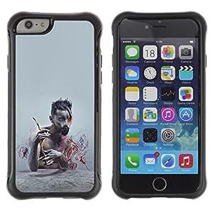 "Hypernova Defender Series TPU protection Cas Case Coque pour Apple Iphone 6 [Patrón Puma Rosa Piel animal""]"