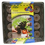 jiffy peat tomato - Jiffy, 16 Count, 11