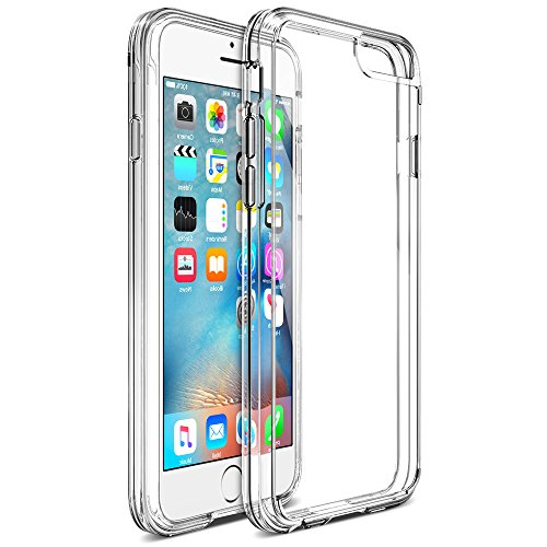 Trianium iPhone 6/6s Case, [Clarium Series] Premium Protective TPU Bumper Cases Cover for Apple iPhone 6s & iPhone 6 - New Frustration Free Package - Clear
