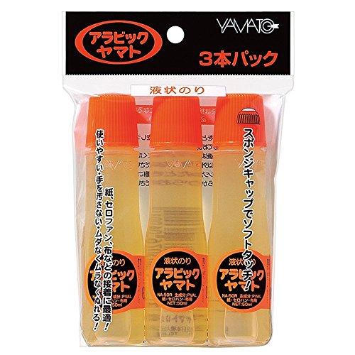 Yamato liquid glue Arabic three pack NA-50RH 3P 50ml ~ 3 this NA-50RH-3P
