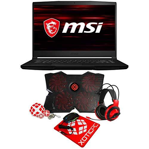 """MSI GF63 Thin 9SCX-459 (15.6"""" FHD IPS-Level, i7-9750H, 8GB DDR4 RAM, 1TB 970 EVO Plus NVMe SSD + 1TB HDD, GeForce GTX 1650 4GB, Windows 10 Home) Enthusiast Gamer Laptop"""