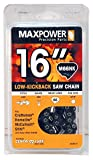 Maxpower 16' Chainsaw Chain Loop (Narrow Kerf) For Craftsman, Homelite, Mcculloch, Stihl & Others (M66NK)