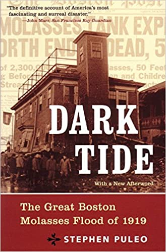 Dark Tide, Stephen Puleo's book on the Molasses Flood