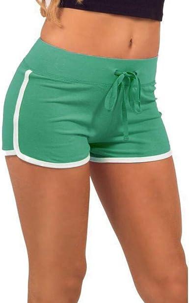 Gusspower Pantalón Corto de Yoga Shorts clásicas Pantalones de ...