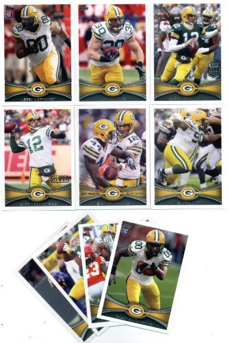 2012 Topps Green Bay Packers Football Cards Team Set, used for sale  Delivered anywhere in Canada