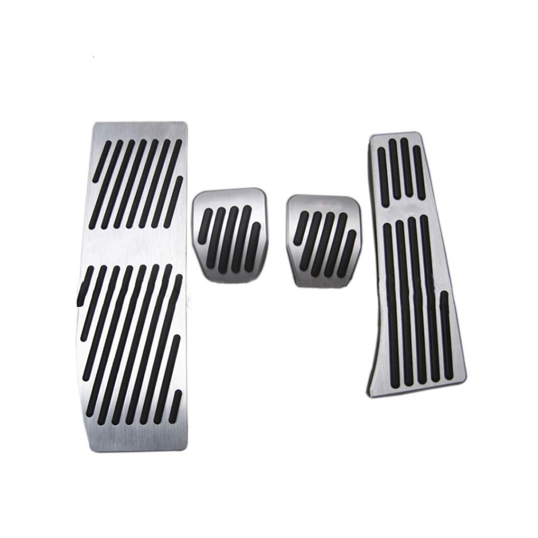 Para 1 3 5 7 Series X3 X5 Z4 brake Pedal del coche del acelerador Pedal de freno Pedal de De Embrague Accesorios antideslizantes Juego de pedales 2Unids