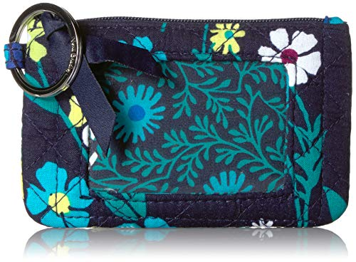(Vera Bradley Iconic Zip ID Case, Signature Cotton, Moonlight Garde)