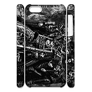 3D Print World Famous Hard Rock Band&Judas Priest Case Cover for iPhone 5C- Personalized Hard Cell Phone Back Protective Case Shell-Perfect as gift