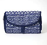 Carolina Sweethearts Quilted Travel Aztec Hanging Organizer With Velcro Closure