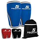 Knee Sleeve (Pair) Squat Knee Support & Compression for Powerlifting, Weightlifting, Cross Training