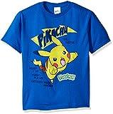 Pokemon Little Boys Pikachu Short Sleeve Tee, Royal, Medium/5-6