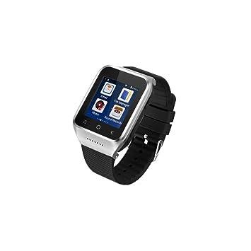 Montre connectée téléphone 3G ZGPAX S8 Smart Watch WiFi GPS Gris métal