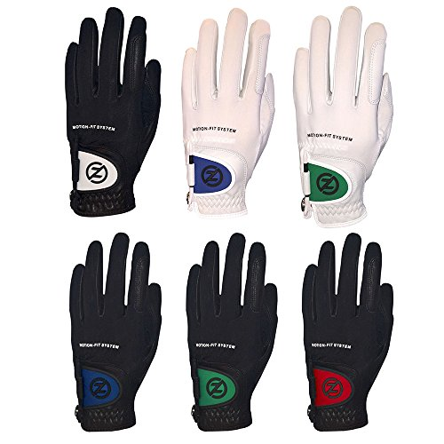 Zero Friction Mens Motion Fit Johnny Miller Golf Glove (One Size)