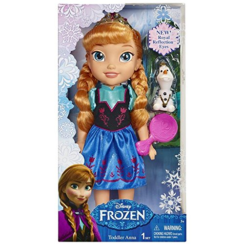 [Disney Frozen Toddler Anna Doll] (Disney Frozen Anna)