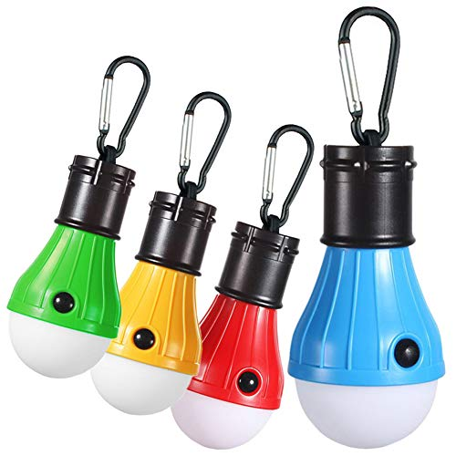 Solar Led Light Bulb With Clip in US - 8
