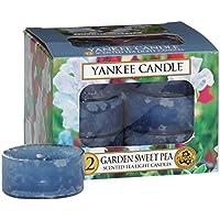Yankee Candle Tea Light Candles, Garden Sweet Pea