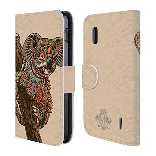 official-bioworkz-ornate-koala-coloured-wildlife-1-leather-book-wallet-case-cover-for-lg-nexus-4-e96