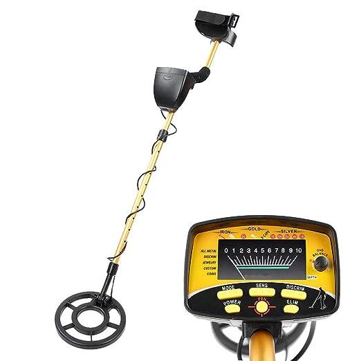 Detector de metales, M910 Buscador de metales subterráneo de oro ...