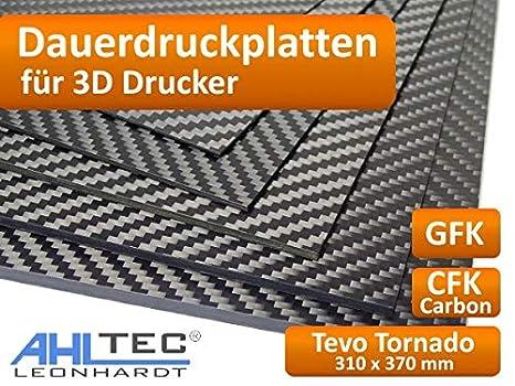 Placa de impresión 3D para Tevo Tornado, 310 x 370 x 1,0 mm ...