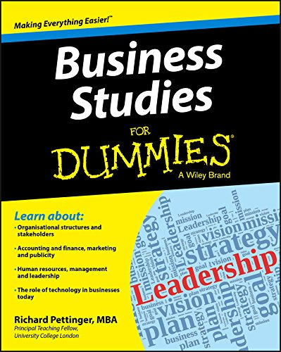 Business Studies For Dummies (Business Plan Writer)