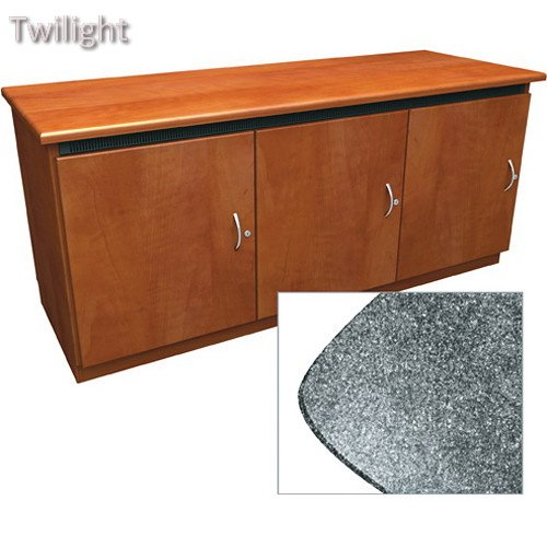 Middle Atlantic Contemporary-Style Finishing Kit for Deep Credenza Rack - Credenza Atlantic Middle