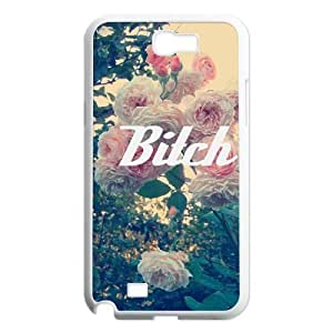 Fuck Flowers Custom Case for Samsung Galaxy Note 2 N7100, Personalized Fuck Flowers Case