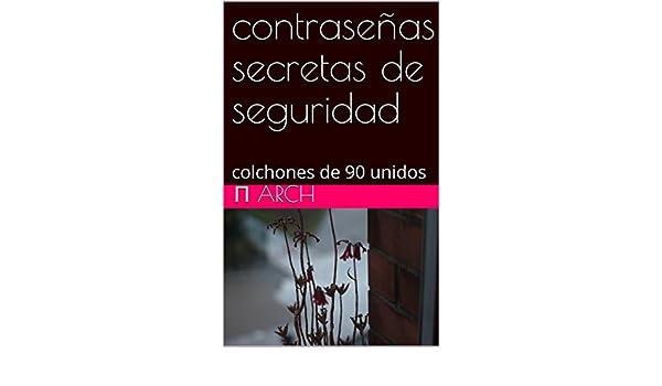 Amazon.com: contraseñas secretas de seguridad: colchones de 90 unidos (Spanish Edition) eBook: π arch: Kindle Store