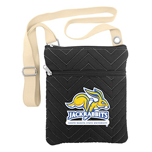 South Dakota Handbag - NCAA South Dakota State Jackrabbits Chev-Stitch Cross Body
